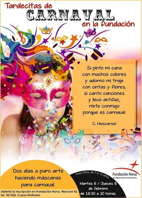 Diario ca ada taller de mascaras para carnaval para for Diarios de espectaculos online